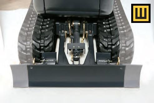Minikoparka KUBOTA K008 rozsuwane gąsienice