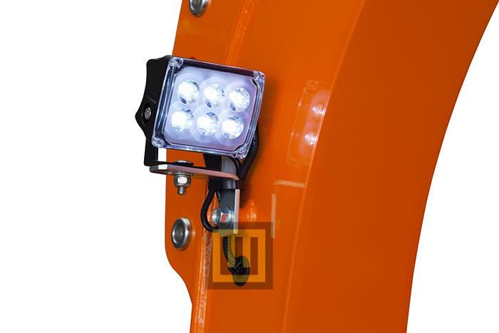Minikoparka KUBOTA U10-5 lampa led